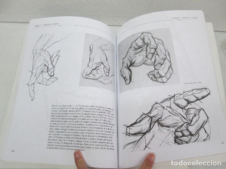 Libros de segunda mano: BURNE HOGARTH. EL DIBUJO DE LUCES Y SOMBRAS A SU ALCANCE. CABEZA HUMANA. ANATOMICO. 3 LIBROS - Foto 14 - 124191527