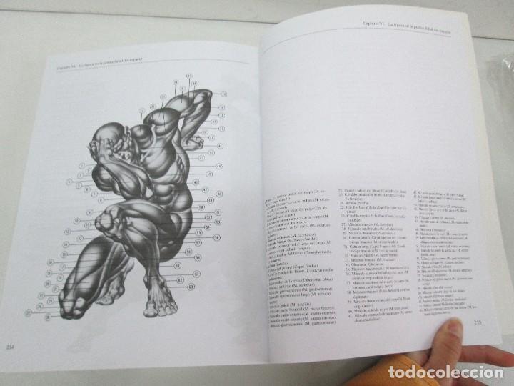 Libros de segunda mano: BURNE HOGARTH. EL DIBUJO DE LUCES Y SOMBRAS A SU ALCANCE. CABEZA HUMANA. ANATOMICO. 3 LIBROS - Foto 15 - 124191527
