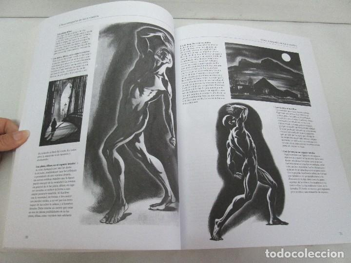 Libros de segunda mano: BURNE HOGARTH. EL DIBUJO DE LUCES Y SOMBRAS A SU ALCANCE. CABEZA HUMANA. ANATOMICO. 3 LIBROS - Foto 21 - 124191527