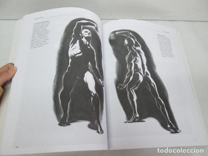 Libros de segunda mano: BURNE HOGARTH. EL DIBUJO DE LUCES Y SOMBRAS A SU ALCANCE. CABEZA HUMANA. ANATOMICO. 3 LIBROS - Foto 22 - 124191527