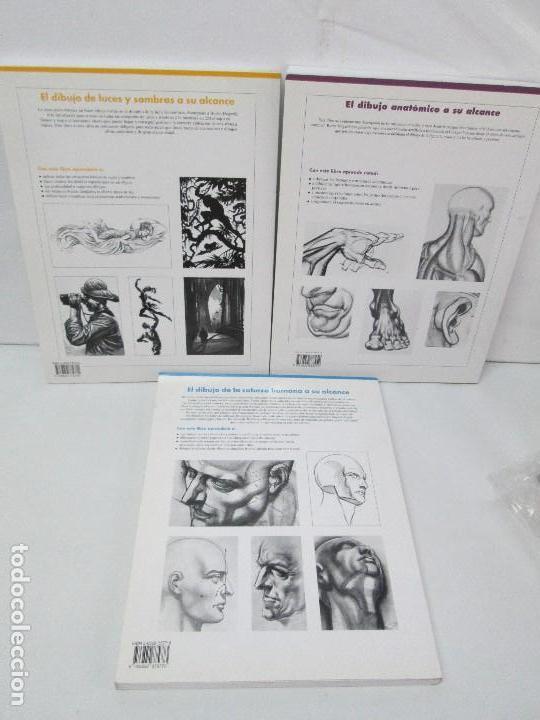 Libros de segunda mano: BURNE HOGARTH. EL DIBUJO DE LUCES Y SOMBRAS A SU ALCANCE. CABEZA HUMANA. ANATOMICO. 3 LIBROS - Foto 38 - 124191527