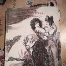 Libros de segunda mano: GOYA. LOS CAPRICHOS - DIBUJOS Y AGUAFUERTES - 1994. Lote 124212147