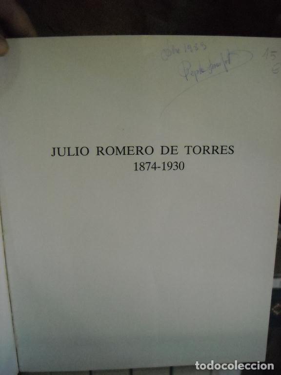 Libros de segunda mano: JULIO ROMERO DE TORRES - Foto 9 - 124653815