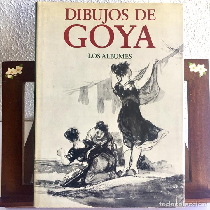 DIBUJOS DE GOYA: LOS ÁLBUMES. PIERRE GASSIER 1973 (Libros de Segunda Mano - Bellas artes, ocio y coleccionismo - Pintura)