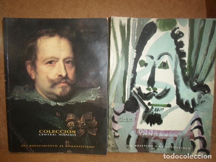 DOS TOMOS COLECCIÓN DE ARTE CENTRAL-HISPANO (Libros de Segunda Mano - Bellas artes, ocio y coleccionismo - Pintura)