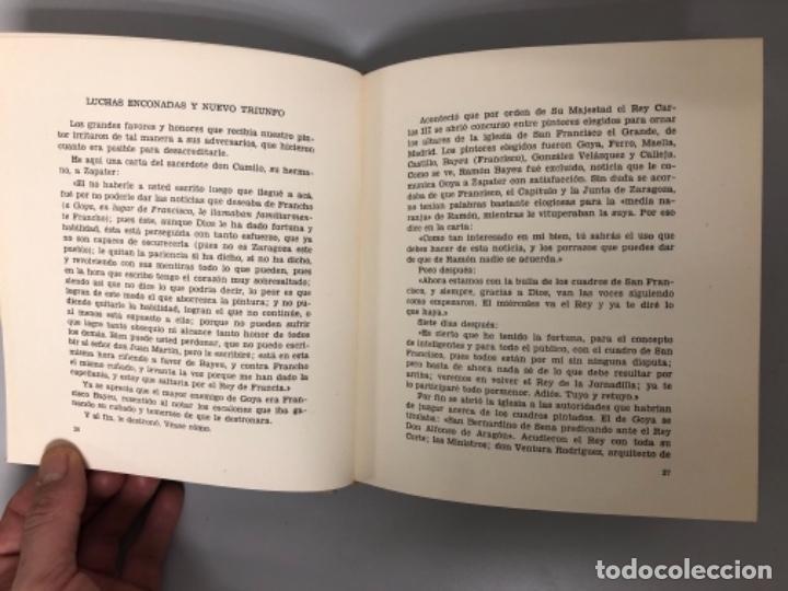 Libros de segunda mano: GOYA POR ANTONIO J. ONIEVA. ED. OFFO, 1962. - Foto 4 - 125815999