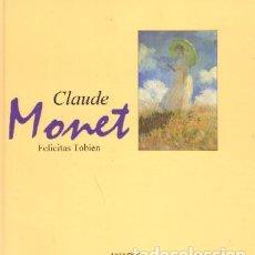 Libros de segunda mano: CLAUDE MONET. AT-1158. Lote 125847235
