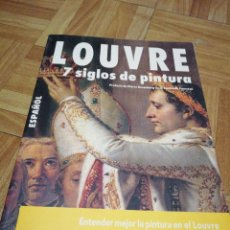 Libros de segunda mano: LOUVRE. 7 SIGLOS DE PINTURA. . Lote 125894275
