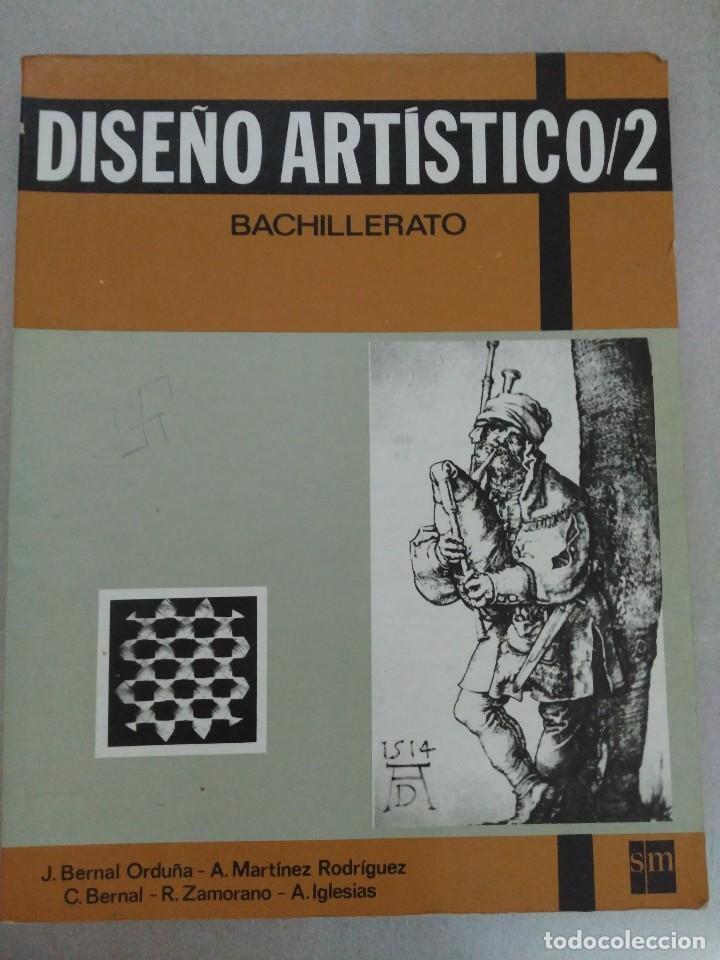 DISEÑO ARTISTICO 2 EDITORIAL SM (Libros de Segunda Mano - Bellas artes, ocio y coleccionismo - Pintura)