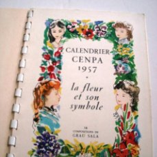 Libros de segunda mano: CALENDARIO 1957 - GRAU SALA. Lote 126189759