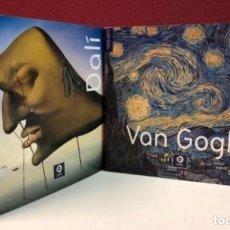 Libros de segunda mano: DALÍ Y VAN GOGH. 2 LIBROS DE TODO ARTE. EDIMAT EDITORIAL. 2008 Y 2009 .. Lote 126198515