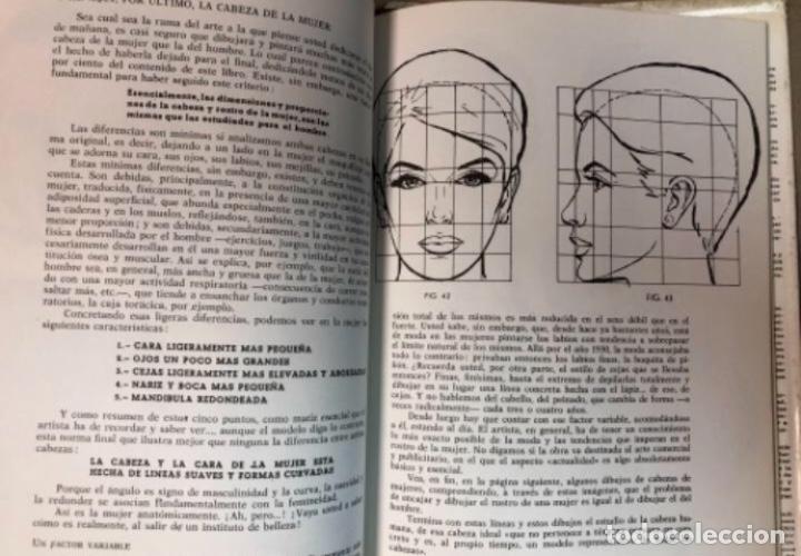 Libros de segunda mano: COMO DIBUJAR LA CABEZA HUMANA Y EL RETRATO - JOSÉ M° PARRAMÓN - 88 PÁGINAS (1965) - Foto 4 - 196090495