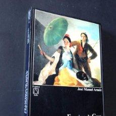 Libros de segunda mano: FRANCISCO DE GOYA - CARTONES Y TAPICES / JOSE MANUEL ARNAIZ / ESPASA CALPE 1987 / 320 PAGINAS. Lote 127567875