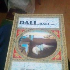 Libros de segunda mano: DALÍ . LOS ATRACTIVOS DE UN GENIO. ED. BLUME , 1983.BANCO HISPANO AMERICANO. . Lote 127569963