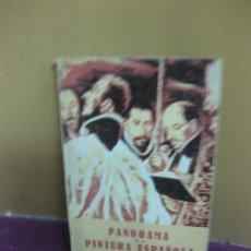 Libros de segunda mano: PANORAMA DE LA PINTURA ESPAÑOLA. JOSE M. JUNOY. SEIX BARRAL 1947.. Lote 127630239