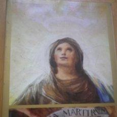 Libros de segunda mano: REGINA MARTIRUM GOYA. Lote 127636463