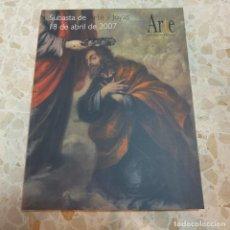 Libros de segunda mano: SUBASTA DE ARTE Y JOYAS, TOMO 17 - ARTE. INFORMACIÓN Y GESTIÓN - GRUPO EL MONTE. Lote 127931563