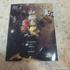 Libros de segunda mano: SUBASTA DE ARTE Y JOYAS, TOMO 13 - ARTE. INFORMACIÓN Y GESTIÓN - GRUPO EL MONTE. Lote 127931811