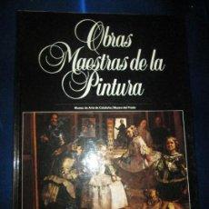 Libros de segunda mano: LIBRO-OBRAS MAESTRAS DE LA PINTURA 7-MUSEO DEL PRADO Y MUSEO DE CATALUÑA-PLANETA-1983-NUEVO. Lote 128859731