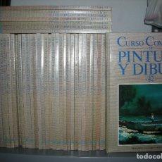 Libros de segunda mano: LOTE 49 TOMOS CURSO COMPLETO DE PINTURA Y DIBUJO.- PARRAMON - PLANETA - AGOSTINI 1987. Lote 128885907