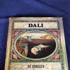 Libros de segunda mano: DALI DE DRAEGER EDICION ESPAÑOLA 1970 PALABRAS DE PRESENTACION DE SALVADOR DALI MULTITUD DE FOTOS . Lote 129306263