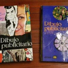 Libros de segunda mano - DIBUJP PUBLICITARIO - 2 TOMOS COMPLETO - AFHA 1970 - 129453183