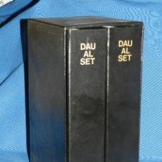 Libros de segunda mano: (MF) REVISTA DAU AL SET - COMPLETO ,EDICION FACSIMIL 1980 , AUBERT IMPRESSOR OLOT , 60 NUMEROS. Lote 129540535