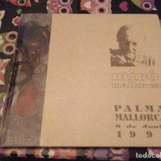 Libros de segunda mano: LIBRO CATALOGO EXPOSICION MIRO PALMA DE MALLORCA 8 JUNIO 1994 UNIVERSITAT DE LES ILLES BALEARS. Lote 130124419