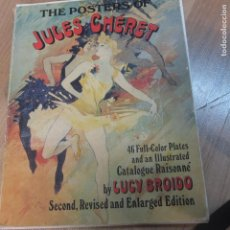 Libros de segunda mano: THE POSTERS OF JULES CHÉRET. LUCY BROIDO. DOVER PUBLICATIONS. 1992. Lote 130202827