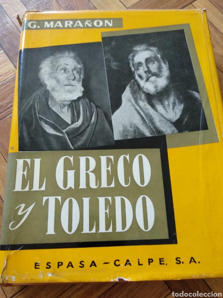 EL GRECO Y TOLEDO, G. MARAÑÓN (Libros de Segunda Mano - Bellas artes, ocio y coleccionismo - Pintura)