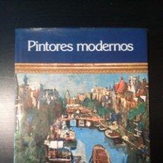 Libros de segunda mano: PINTORES MODERNOS. Lote 130322130