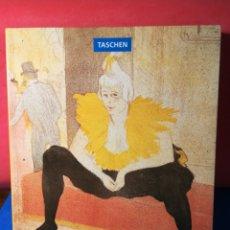 Libros de segunda mano: HENRI DE TOULOUSE-LAUTREC TASCHEN, 1994. Lote 130443282