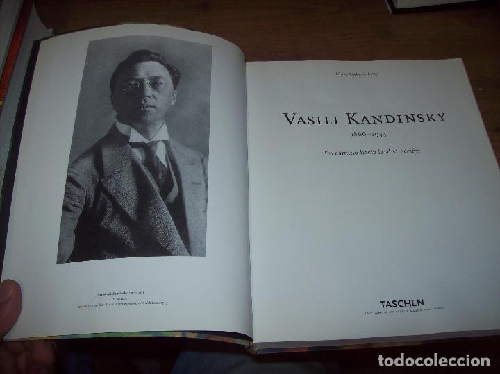 Libros de segunda mano: VASILI KANDINSKY ( 1866 - 1944 ). EN CAMINO HACIA LA ABSTRACCIÓN. TASCHEN. 1ª EDICIÓN 2003.VER FOTOS - Foto 3 - 130550746