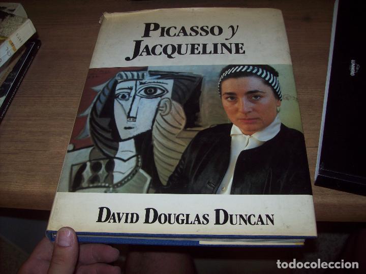 Libros de segunda mano: PICASSO Y JACQUELINE. DAVID DOUGLAS DUNCAN. MUCHNIK EDITORES. 1ª EDICIÓN 1988. EJEMPLAR BUSCADÍSMO!! - Foto 2 - 130742609