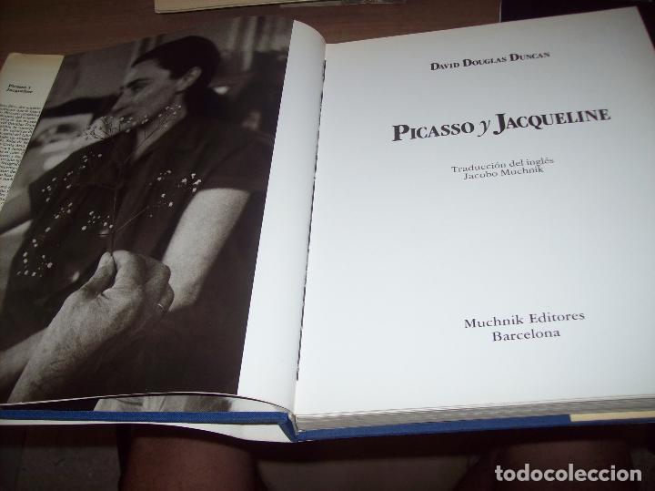 Libros de segunda mano: PICASSO Y JACQUELINE. DAVID DOUGLAS DUNCAN. MUCHNIK EDITORES. 1ª EDICIÓN 1988. EJEMPLAR BUSCADÍSMO!! - Foto 4 - 130742609