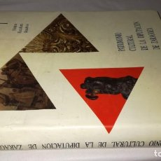 Libros de segunda mano: PATRIMONIO CULTURAL DE LA DIPUTACION DE ZARAGOZAPINTURA ESCULTURA RETABLOS-JOSE IGNACIO CALVO RUAT. Lote 131030076