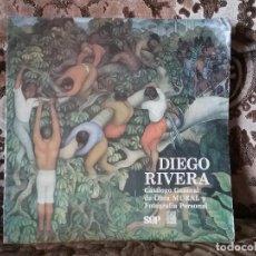 Libros de segunda mano: DIEGO RIVERA - CATALOGO GENERAL DE OBRA MURAL Y FOTOGRAFIA PERSONAL. MEXICO, 1988. SOLO 3.000 EJEMPL. Lote 131106672