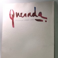 Libros de segunda mano: CATALOGO DE PINTURAS ·· JULIO QUESADA ·· 1949 - 1997 ·· GRAVINA · ALICANTE. Lote 131212856