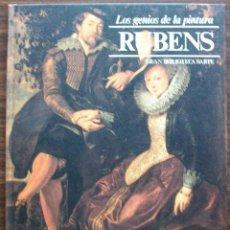 Libros de segunda mano: RUBENS. LOS GENIOS DE LA PINTURA. 1979 ( VOL. 14 ). Lote 131581214