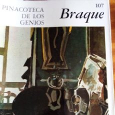 Libros de segunda mano: BRAQUE. PINACOTECA DE LOS GENIOS Nº 107: EDITORIAL CODEX. Lote 131693818