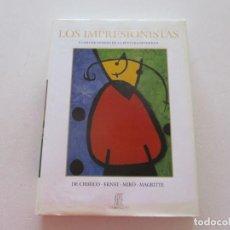 Libros de segunda mano: LOS IMPRESIONISTAS Y LOS CREADORES DE LA PINTURA MODERNA. DE CHIRICO, ERNST, MIRÓ, MAGRITTE. RM87719. Lote 131881578