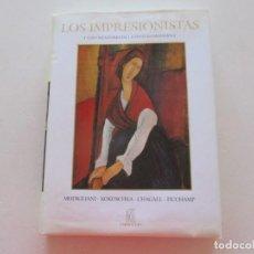 Libros de segunda mano: LOS IMPRESIONISTAS Y LOS CREADORES DE LA PINTURA MODERNA. MODIGLIANI, KOKOSCHKA, CHAGALL...RM87720. Lote 131881730
