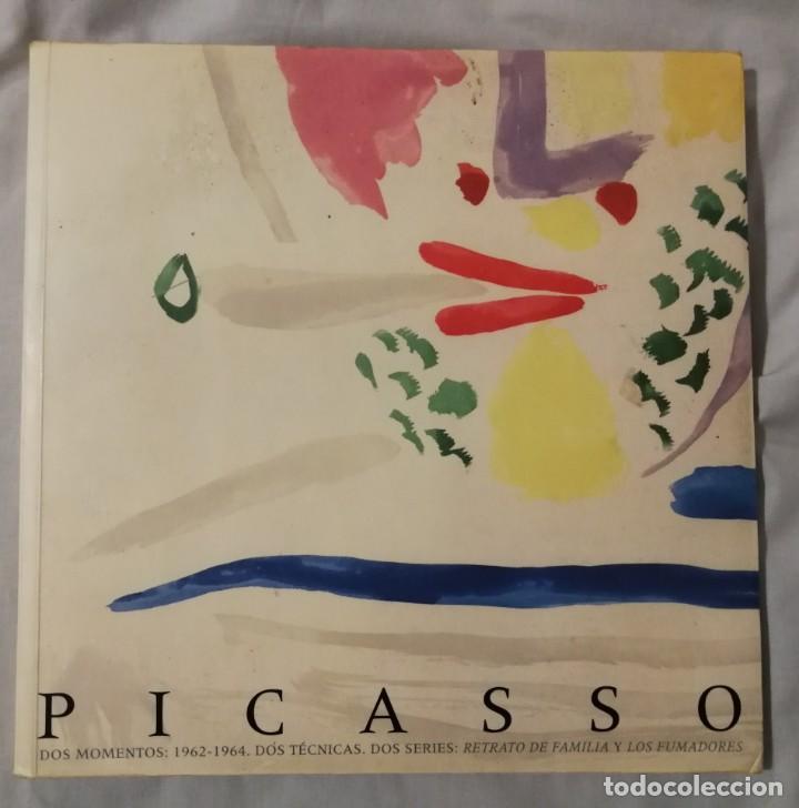 PICASSO.DOS MOMENTOS(1962-1964)DOS SERIES:DOS TÉCNICAS:RETRATO DE FAMILIA Y LOS FUMADORES (Libros de Segunda Mano - Bellas artes, ocio y coleccionismo - Pintura)
