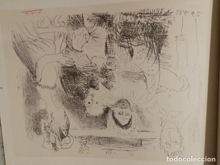 Libros de segunda mano: Picasso.dos Momentos(1962-1964)Dos series:dos Técnicas:Retrato De Familia Y Los Fumadores - Foto 4 - 132239058