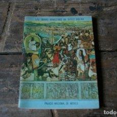 Libros de segunda mano: OBRAS MAESTRAS DE DIEGO RIVERA (MEXICO). Lote 132239598