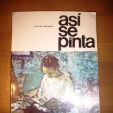 Libros de segunda mano - PARRAMÓN, José Mª. Así se pinta. (Colección Aprender haciendo) - 132335406