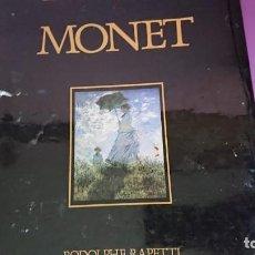 Libros de segunda mano: MONET GRANDES MAESTROS ANAYA 1990. Lote 132422254