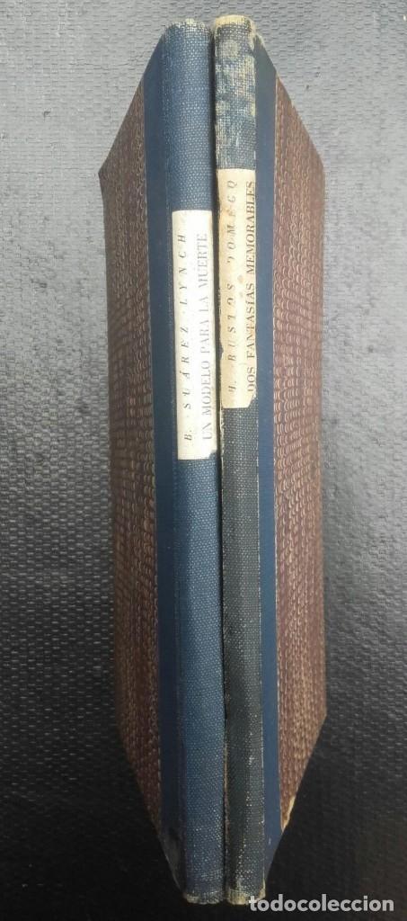 JORGE LUIS BORGES & BIOY CASARES - DOS FANTASÍAS MEMORABLES - UN MODELO PARA LA MUERTE (Libros de Segunda Mano - Bellas artes, ocio y coleccionismo - Pintura)