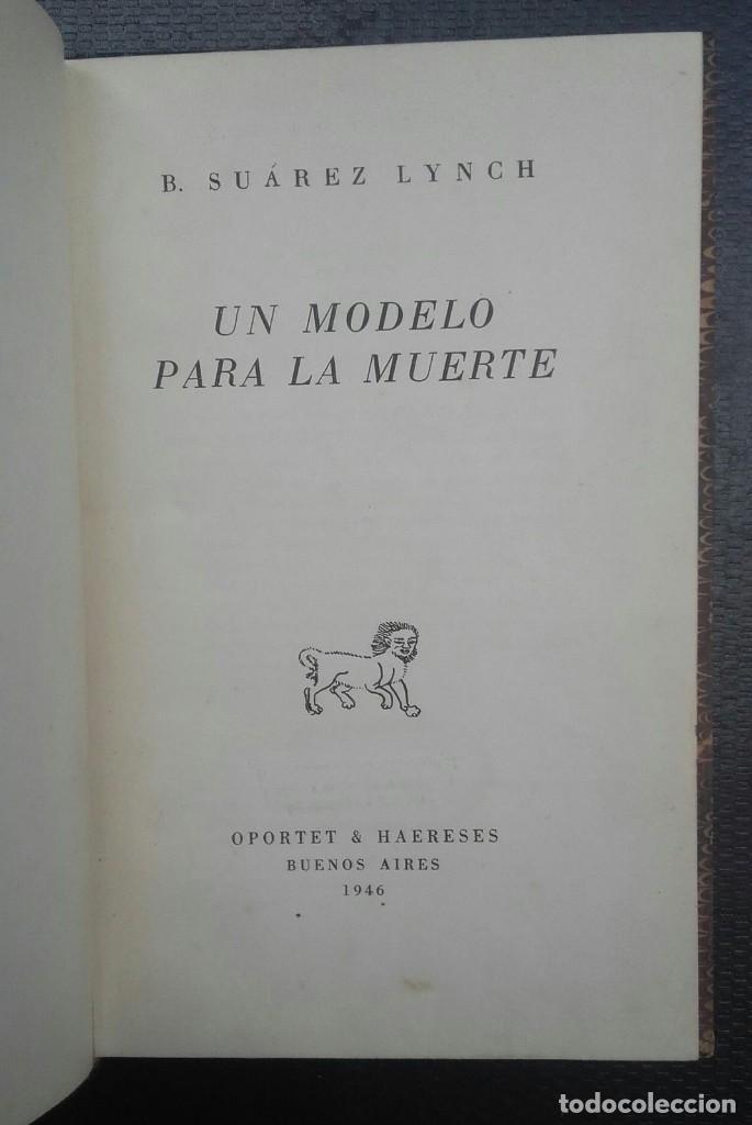 Libros de segunda mano: Jorge Luis Borges & Bioy Casares - Dos fantasías memorables - Un modelo para la muerte - Foto 3 - 132497774