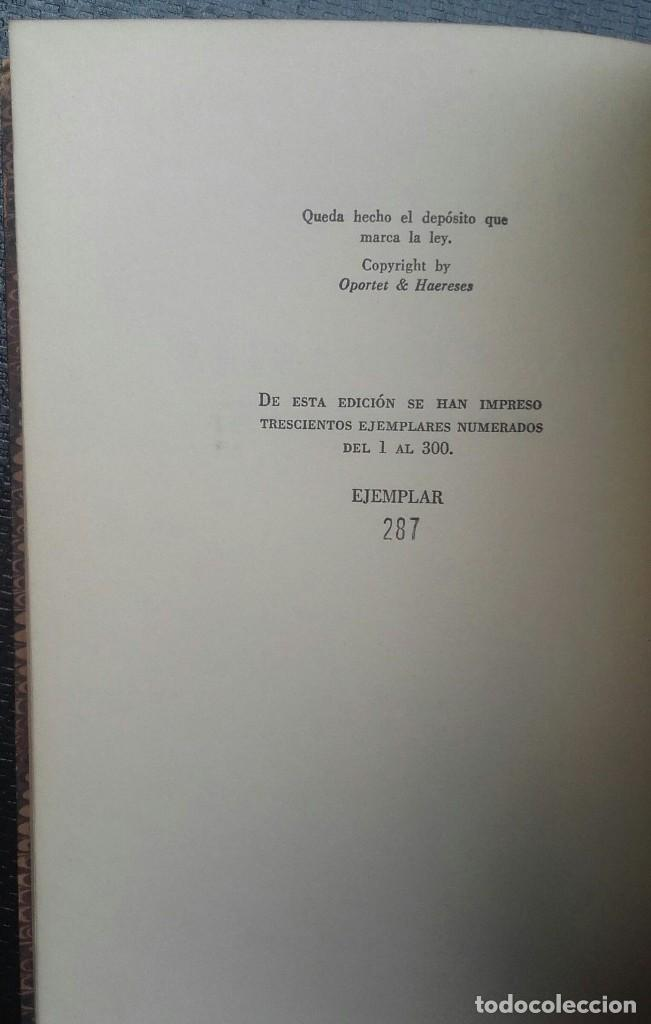 Libros de segunda mano: Jorge Luis Borges & Bioy Casares - Dos fantasías memorables - Un modelo para la muerte - Foto 6 - 132497774